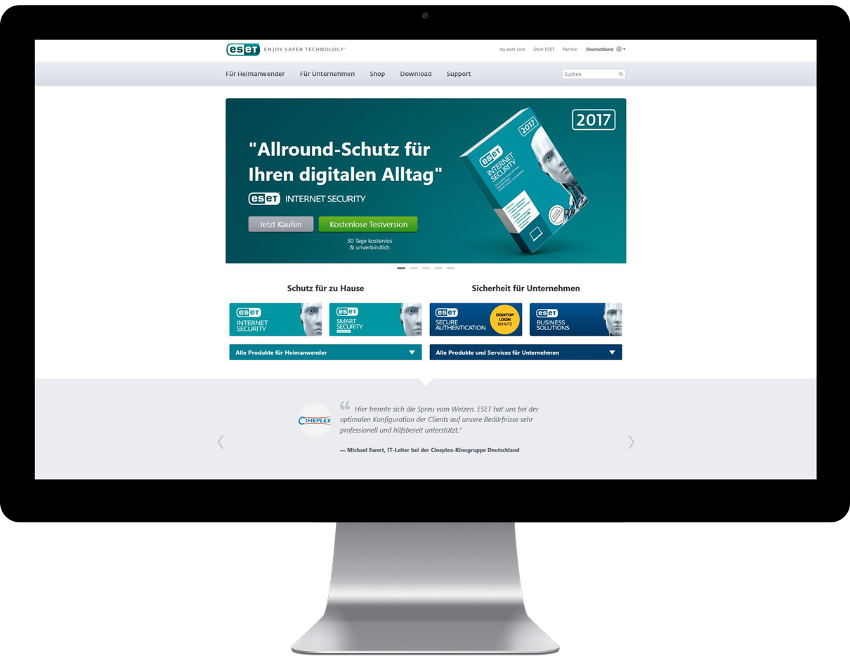 ESET Website
